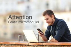 Attention – gratis mikromoduler
